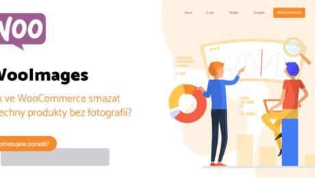Jak ve WooCommerce smazat všechny produkty bez fotografií?